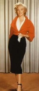 Marilyn en jupe-crayon dans le film Niagara (1953)