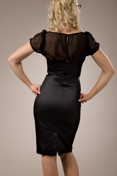 dbf26a26bad1 Robes retro chic inspiration vintage - - robe rétro vintage noire ...