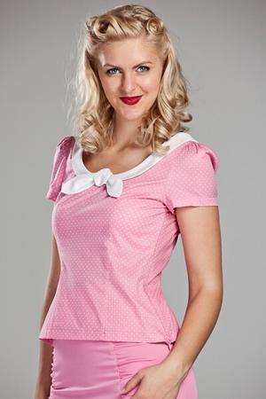 708664af493ae Hauts femme rétro chic vintage style - - boléro tricot femme
