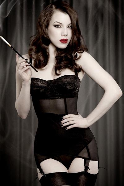 lingerie vintage femme
